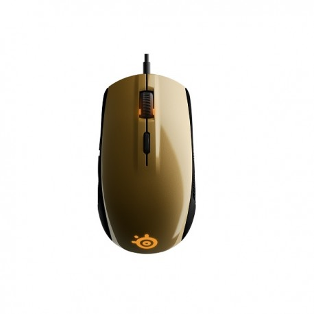 Steelseries Alchemy Gold Rival 100 RGB 4000dpi Gaming Mouse SS-62336