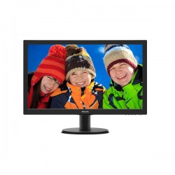 Philips 243V5QHABA 24in V Line Full HD Monitor