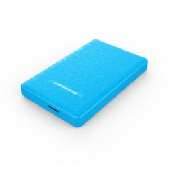 Simplecom SE101 2.5'' SATA to USB 3.0 HDD/SSD Enclosure (Blue) PC--SE101-BLU