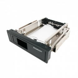 "Simplecom SC314 Internal 5.25"" Bay Mobile Rack 3.5"" SATA HDD Backplane Enclosure"