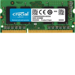 Crucial 4GB 1600MHz DDR3L SODIMM - CT51264BF160BJ
