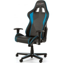 DXRacer Formula FL08 Black & Blue Gaming Chair - Sparco Style Neck/Lumbar Support OH/FL08/NB