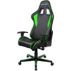 DXRacer Formula FL08 Black & Green Gaming Chair - Sparco Style Neck/Lumbar Support OH/FL08/NE