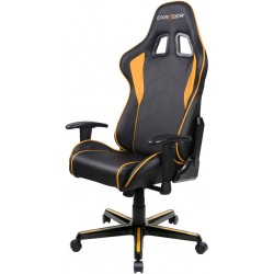 DXRacer Formula FL08 Black & Orange Gaming Chair - Sparco Style Neck/Lumbar Support OH/FL08/NO