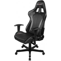 DXRacer Formula FL57 Black & Carbon Grey Gaming Chair - Sparco Style Neck/Lumbar Support OH/FL57/NG