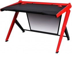DXRacer 1000 Series Black & Red Gaming Desk GD/1000/NR