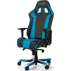 DXRacer King KS06 Black & Blue Gaming Chair - Neck/Lumbar Support OH/KS06/NB