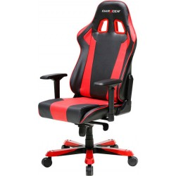 DXRacer King KS06 Black & Red Gaming Chair - Neck/Lumbar Support OH/KS06/NR