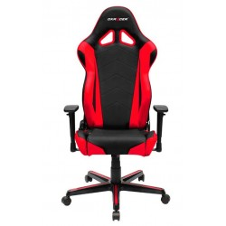 DXRacer Racing RZ0 Black & Red Gaming Chair - Neck/Lumbar Support OH/RZ0/NR