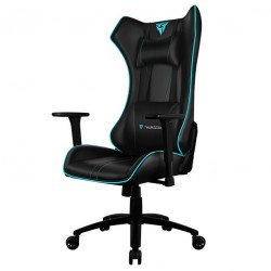 ThunderX3 UC5 HEX Black & Cyan RGB Lighting Gaming Chair UC5-BC