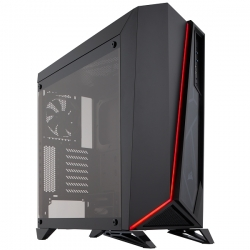 Corsair Carbide Series SPEC-OMEGA Tempered Glass Black ATX Case CC-9011121-WW(SPEC-OMG-B)