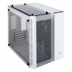Corsair Crystal Series 280X Tempered Glass White MicroATX Case CC-9011136-WW(280X-WHI)