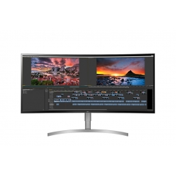 LG 38WK95C-W 38in Curved UltraWide WQHD+ 3840x1600 IPS Type-C Monitor