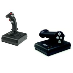 CH Products Topgun Pack (inc. Fighterstick + Pro Throttle) CH-TOPGUN