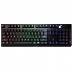 Gigabyte AORUS K9 Optical-Mechanical Blue Switch Gaming Keyboard AORUS-K9-BLUE