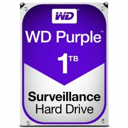 Western Digital WD10PURZ WD Purple 3.5in 1TB Surveillance SATA3 HDD