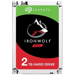 Seagate ST2000VN004 IronWolf 3.5in 2TB 5900rpm SATA3 NAS HDD