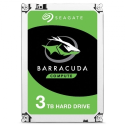 Seagate ST3000DM007 BarraCuda 3.5in 3TB 5400rpm SATA3 HDD