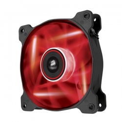 Corsair Air Series AF120 LED Red Quiet Edition High Airflow 120mm Fan CO-9050015-RLED(AF120-QE-RLED)