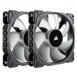 Corsair ML120 120mm PWM Premium Magnetic Levitation Fan Twin Pack CO-9050039-WW(ML120TP)