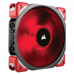 Corsair ML120 PRO LED Red 120mm PWM Premium Magnetic Levitation Fan CO-9050042-WW(ML120-PRO-RLED)