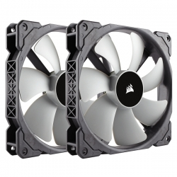 Corsair ML140 140mm PWM Premium Magnetic Levitation Fan Twin Pack CO-9050044-WW(ML140TP)
