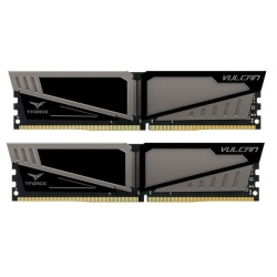 Team T-Force Vulcan 8GB (2x4GB) 2400MHz DDR4 Grey TLGD48G2400HC14DC01
