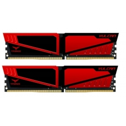 Team T-Force Vulcan 8GB (2x4GB) 2400MHz DDR4 Red TLRED48G2400HC14DC01