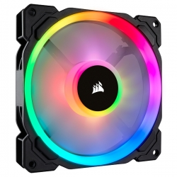 Corsair LL140 RGB 140mm Dual Light Loop RGB LED PWM Fan Single Pack CO-9050073-WW(LL-SP140)