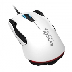 ROCCAT Kova Pure Performance Ambidextrous Gaming Mouse White