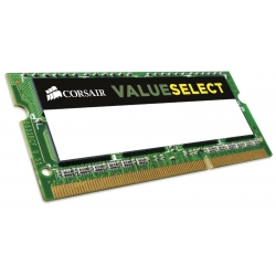 Corsair Value Select 4GB (1x4GB) 1600MHz DDR3 SODIMM [CMSO4GX3M1C1600C11]