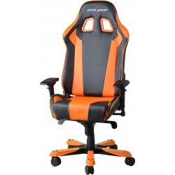 DXRacer King KS06 Gaming Chair - Neck/Lumbar Support Black & Orange OH/KS06/NO