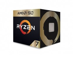 AMD Ryzen 7 2700X, 8 Cores, 16 threads, AM4 CPU, 4.35GHz, 20MB, 105W, Wraith Prism Cooler Fan Box -