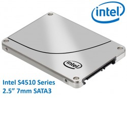 "Intel DC S4510 2.5"" 480GB SSD SATA3 6Gbps 3D2 TCL 7mm 560R/490R MB/s 95K/18K IOPS 2xDWPD 2 Mil Hrs"