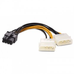 2x Molex to 8-pin PCI-Express Power Cable PC--2xM-8PCIE