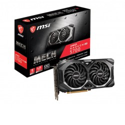 MSI AMD Radeon RX 5700 MECH OC 8GB GDDR6 PCIe 4.0 Video Card 7680x4320 4xDisplays 3xDP HDMI 1905/1755 MHz 7nm FreeSync 2 HDR Fid