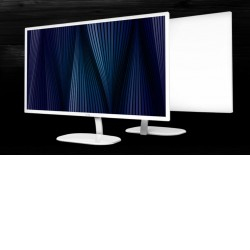 "AOC 31.5"" VA 5ms 2560x1440, QHD, 1x HDMI, 1x DP, 75Hz, 3-sides frameless, VESA 100 x 100mm wall mountable, White colour"