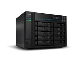 Asustor BA-AS6510T Lockerstor 10 10 Bay Dual Intel 10GbE, M.2 SSD Cache and 2.5GbE 2.1GHz(4 free lincense included)