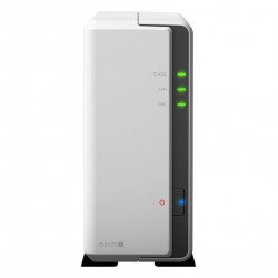 """Synology DiskStation DS120j 1-Bay 3.5"""" Diskless 1xGbE NAS (Tower) (SOHO), Marvell 800MHz, 2xUSB2 - 2 Years Warranty - Comes with"""