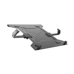 "Brateck Steel Laptop Holder Fits10""-15.6"" for most desk mounts with standard 75x75/100x100 VESA"