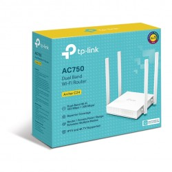 tp-link-archer-c24-ac750-dual-band-wi-fi-router-2-4ghz-300mbps-5ghz-433mbps-4xlan-1xwan-4xantennas-wps-router-access-point-and-1