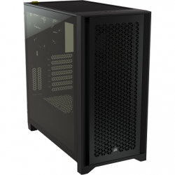 Corsair 4000D AIRFLOW Black Tempered Glass ATX Case CC-9011200-WW(4000D-AIR-BLK)