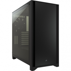 Corsair 4000D Black Tempered Glass ATX Case CC-9011198-WW(4000D-BLK)
