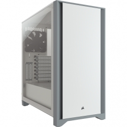 Corsair 4000D White Tempered Glass ATX Case CC-9011199-WW(4000D-WH)