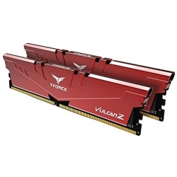 Team Vulcan Z 8GB (2x4GB) 2666MHz DDR4 RAM Red