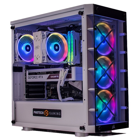 Photech CORE iCUE v1 WHITE 3070 Gaming System PGS-iCUEW-3070
