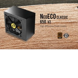 Antec Neo Eco 650Cv2 650w 80+ Bronze, 120mm DBB Fan, Thermal Manager, High Peroframnce Japanese