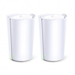 TP-Link Deco X90(2-pack) AX6600 Whole Home Mesh Wi-Fi System (WIFI6), 4-6 Bedroom Home, WPA3