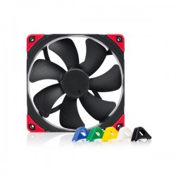 Noctua NF-A14-PWM-CH-BK-S 140mm Chromax.black.swap Edition PWM Fan