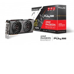 "SAPPHIRE PULSE AMD RADEONâ""¢ RX 6700 XT GAMING 12GB GDDR6 HDMI / TRIPLE DP, Boost Clock: Up to"